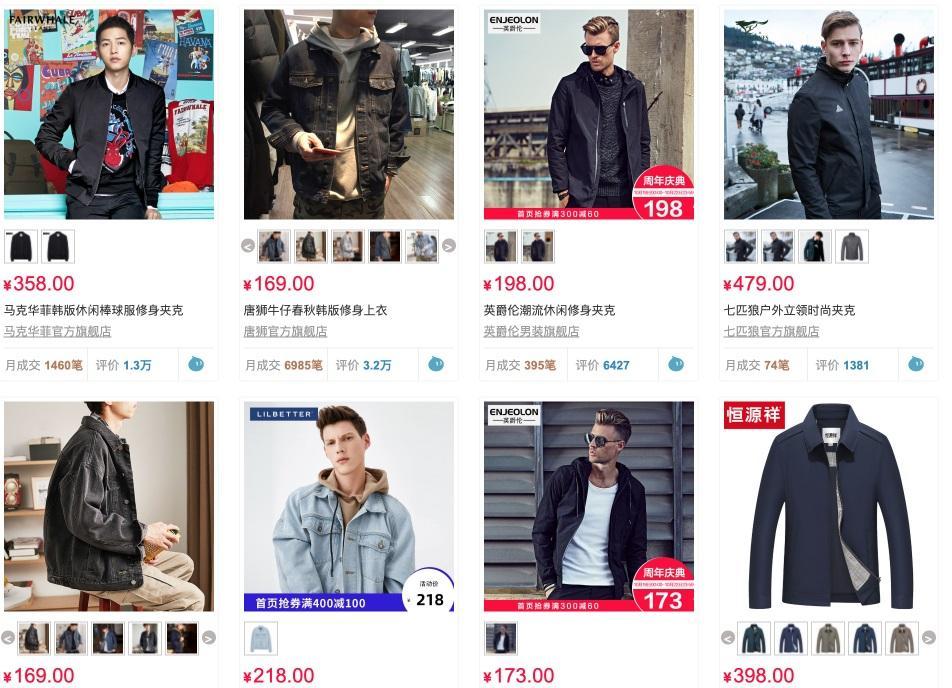 Nhập quần áo nam trên các trang thương mại điện tử là xu hướng mới hiện nay